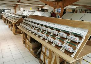 Site de production à Pont l'Évêque